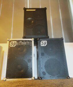 soundboks 1, 2 og 3